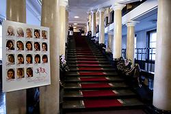 The entrance of Festival Hall Before event Miss Sports of Slovenia 2012, on April 21, 2012, in Festivalna dvorana, Ljubljana, Slovenia. (Photo by Urban Urbanc / Sportida.com)