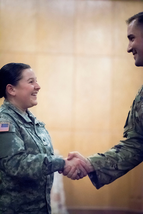 Photos from the Fall 2016 Army Branching ceremony.