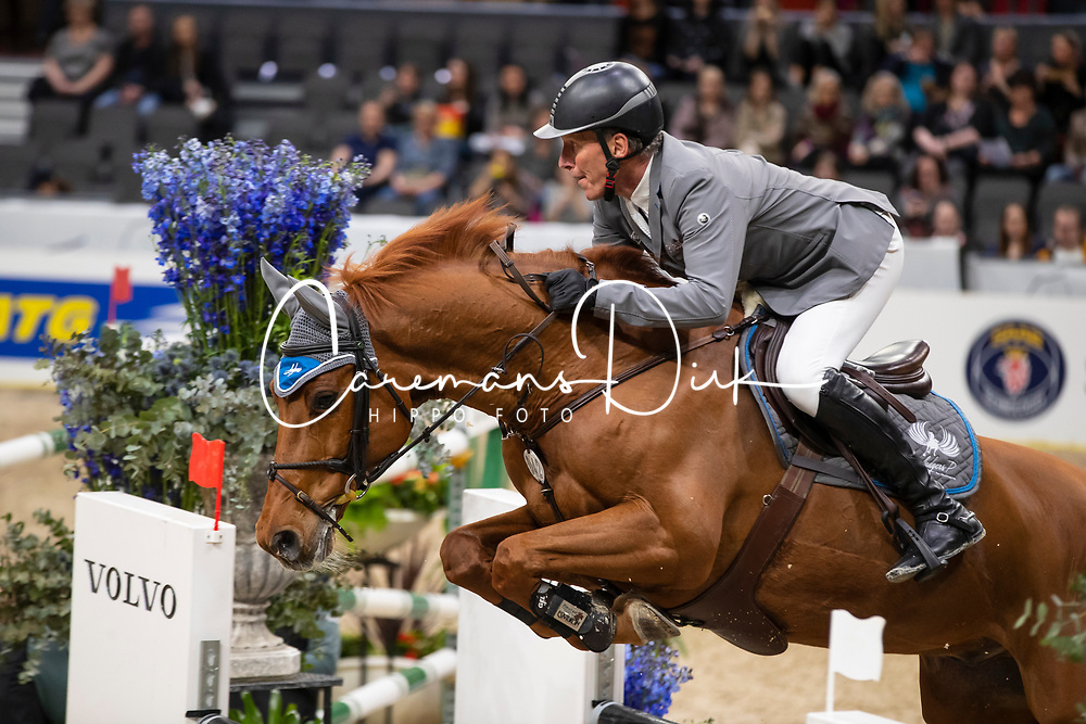 Beerbaum Ludger, GER, Casello<br /> LONGINES FEI World Cup™ Finals Gothenburg 2019<br /> © Dirk Caremans<br /> 04/04/2019