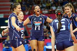 VALENTINA DIOUF<br /> ITALIA - OLANDA<br /> VOLLEYBALL WORLD GRAND PRIX 2016<br /> BARI 18-06-2016<br /> FOTO GALBIATI - RUBIN
