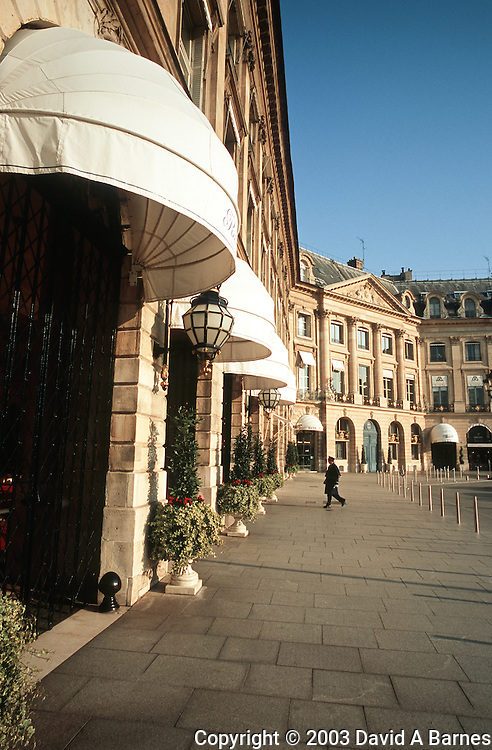 Hotel Ritz, Place Vendome, Paris, France