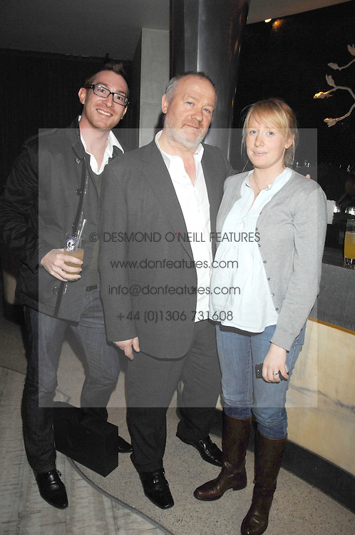 Left to right, THOMAS BUNN, VINCE POWER and NICOLA QUAYLE at the launch party for 'The End of Summer Ball' in Berkeley Square held at Nobu Berkeley, 15 Berkeley Street, London on 7th April 2008.<br /><br />NON EXCLUSIVE - WORLD RIGHTS