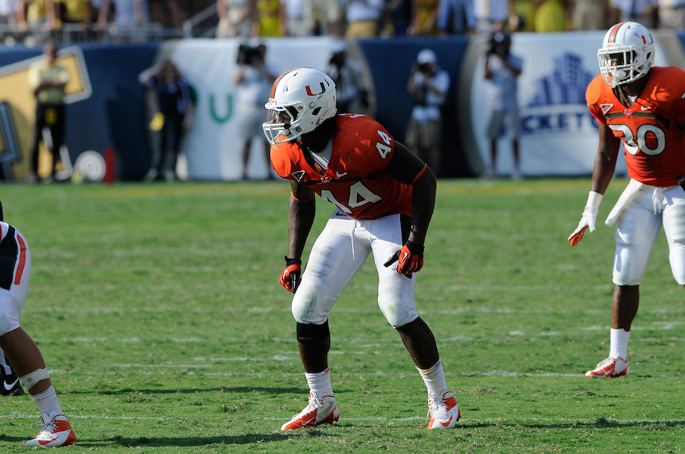 2012 Miami Hurricanes Football @ Georgia Tech