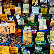 A local spice stand at the Chiang Dao Cave near Chiang Dao, Thailand.