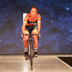 19-01-2017: Wielrennen: Persmoment Boels Dolmans: Valkenburg   <br /> VALKENBURG (NED) wielrennen<br /> In Chateau Sint Gerlach waar de groten der aarde overnachten presenteerde het Boels-Dolmans Womens Cyclingteam zich aan pers en genodigden