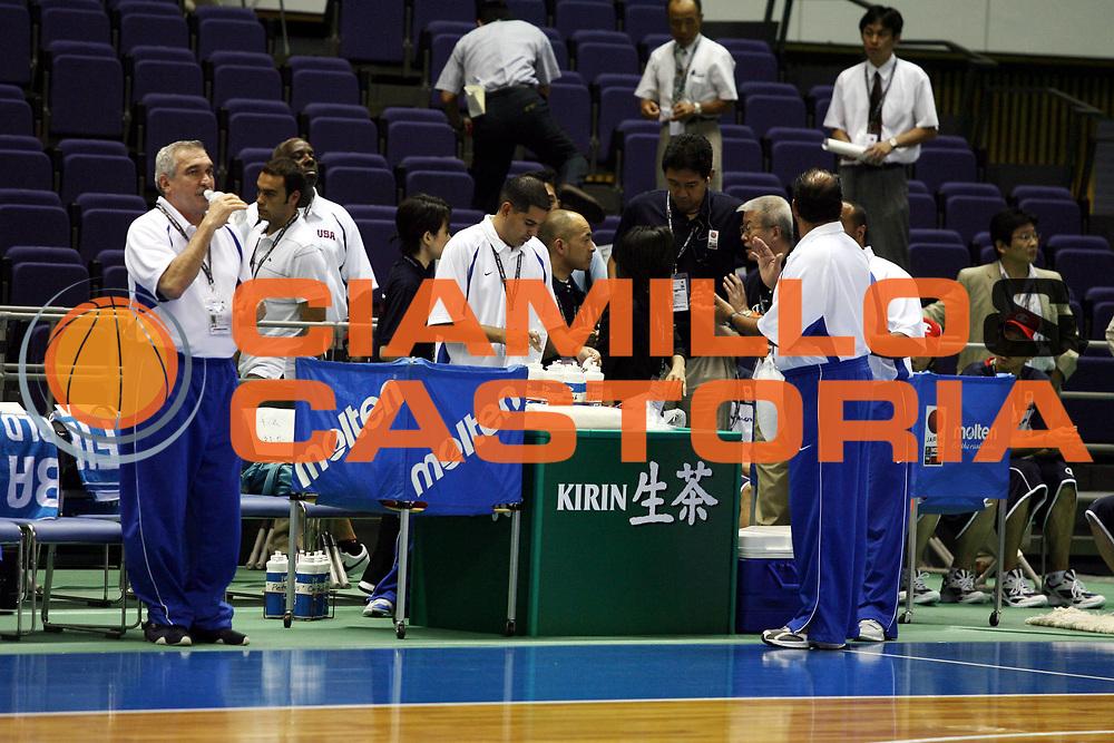 DESCRIZIONE : Sapporo Giappone Japan Men World Championship 2006 Campionati Mondiali China-Italy <br />GIOCATORE : Kirin Molten<br />SQUADRA : <br />EVENTO : Sapporo Giappone Japan Men World Championship 2006 Campionato Mondiale China-Italy <br />GARA : China Italy Cina Italia <br />DATA : 19/08/2006 <br />CATEGORIA : <br />SPORT : Pallacanestro <br />AUTORE : Agenzia Ciamillo-Castoria/G.Ciamillo