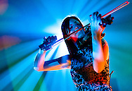 Violinist performing at Corporate vent, England, UK.