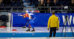 10-11-2017 NED: ISU World Cup, Heerenveen<br /> 500 m men, Ronald Mulder NED, Pavel Kulizhnikov RUS