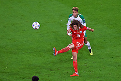 CARDIFF, WALES - Thursday, September 6, 2018: Wales' Ethan Ampadu during the UEFA Nations League Group Stage League B Group 4 match between Wales and Republic of Ireland at the Cardiff City Stadium. (Pic by Laura Malkin/Propaganda)