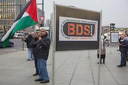 Boycott Israel rally, Berlin 09.11.17