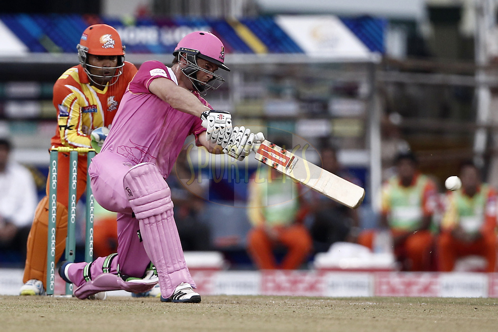 Daniel Flynn Captain of the NORTHERN KNIGHTS during the qualifier 3 match of the Oppo Champions League Twenty20 between the Northern Knights and the Lahore Lions held at the Chhattisgarh International Cricket Stadium, Raipur, India on the 14th September 2014Photo by:  Deepak Malik / Sportzpics/ CLT20Image use is subject to the terms and conditions as laid out by the BCCI/ CLT20.  The terms and conditions can be downloaded here:http://sportzpics.photoshelter.com/gallery/CLT20-Image-Terms-and-Conditions-2014/G0000IfNJn535VPU/C0000QhhKadWcjYs