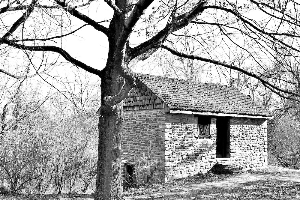 Old Schoolhouse at Shawnee Lookout park.