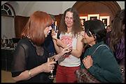JULES WRIGHT;  JUUL KRAIJER; ASHA MIRCHANDANI, The wapping project Mayfair opening in Dover St. London. 17 September 2014.