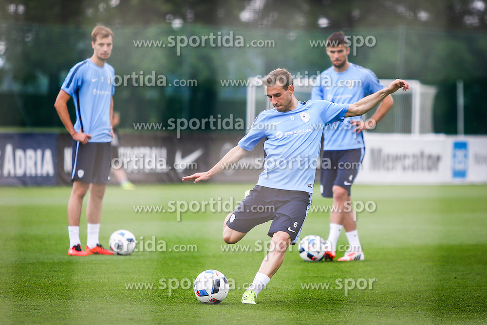 Boban Jovic during practice session of Slovenian Football Team practice session of Slovenian National Team before game against Sweden, on May 26, 2016 in Football centre Brdo pri Kranju, Slovenia. Photo by Ziga Zupan / Sportida
