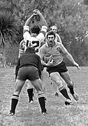 All Black John Ashworth during an All Blacks training session in 1980.<br /> Copyright photo: Norman Smith / www.photosport.co.nz