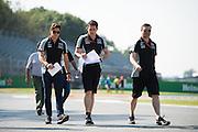 September 1, 2016: Force India , Italian Grand Prix at Monza