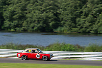 #161 Frank LYONS Ford Escort during HSCC Dunlop Saloon Car Cup  as part of the HSCC Oulton Park Gold Cup  at Oulton Park, Little Budworth, Cheshire, United Kingdom. August 24 2019. World Copyright Peter Taylor/PSP. Copy of publication required for printed pictures.