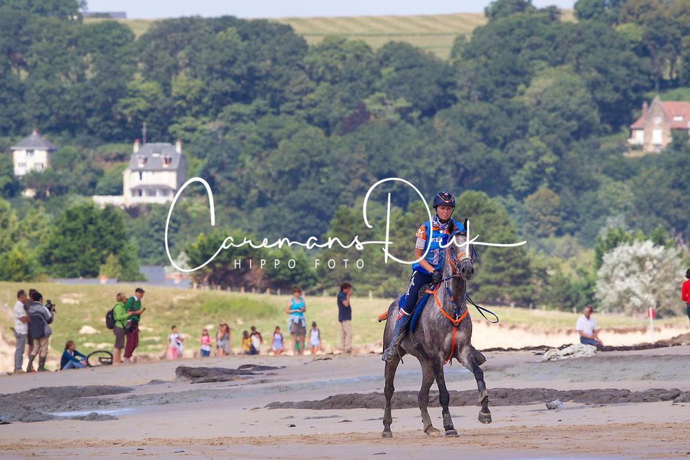 Joyce Van Den Berg, (NED), Run Du Colombier<br /> Alltech FEI World Equestrian Games™ 2014 - Normandy, France.<br /> © Hippo Foto Team - Leanjo de Koster<br /> 25/06/14