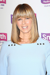 © Licensed to London News Pictures. 24/02/2014, UK. Kate Garraway, Andrew Castle and Tina Hobley launch the new Smooth, the UK's fourth largest commercial radio network with 4.3 million listeners each week, Global Radio Leicester Square, London UK, 24 February 2014. Photo credit : Richard Goldschmidt/Piqtured/LNP