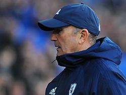 Middlesbrough manager Tony Pulis looks on- Mandatory by-line: Nizaam Jones/JMP - 17/02/2018 -  FOOTBALL - Cardiff City Stadium - Cardiff, Wales -  Cardiff City v Middlesbrough - Sky Bet Championship