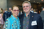 Betty and Houston Oppenheimer at the 10-year anniversary celebration of Republic Bank's Private Banking and Business Banking divisions Wednesday, May 17, 2017, at the Speed Art Museum in Louisville, Ky. (Photo by Brian Bohannon)