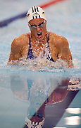 Zoe Baker races in the Women's 50m Breaststroke at the New Zealand Swimming World Championship Trials at the West Aquatic Centre, Auckland, New Zealand, on Tuesday 12 December 2006. Photo: Hannah Johnston/PHOTOSPORT<br /><br /><br />121206