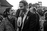 FATIMA MALEKI; MICHELE CONDONI, Dinner to celebrate the 10th Anniversary of Contemporary Istanbul Hosted at the Residence of Freda & Izak Uziyel, London. 23 June 2015