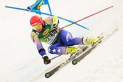 March 9, 2019 - Kranjska Gora, Kranjska Gora, Slovenia - Albin Tahiri of Kosovo in action during Audi FIS Ski World Cup Vitranc on March 8, 2019 in Kranjska Gora, Slovenia. (Credit Image: © Rok Rakun/Pacific Press via ZUMA Wire)