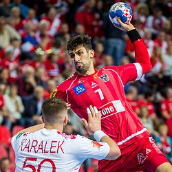 20180112: CRO, Handball - EHF Euro Croatia 2018 - Belarus vs Austria