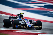 October 19-22, 2017: United States Grand Prix. Charles Leclerc, Ferrari development driver, Sauber, Sauber F1 Team, C36