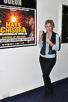 LONDON - July 12: Ana Watts at Odeon West End for the Haye Vs. Chisora Weigh In (Photo by Brett D.Cove)