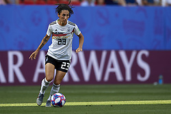 June 29, 2019 - Rennes, France - Sara Doorsoun (Vfl Wolfsburg) of Germany controls the ball during the 2019 FIFA Women's World Cup France Quarter Final match between Germany and Sweden at Roazhon Park on June 29, 2019 in Rennes, France. (Credit Image: © Jose Breton/NurPhoto via ZUMA Press)