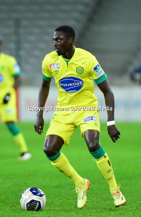 Remi GOMIS - 14.01.2014 - Lille / Nantes - 1/4Finale Coupe de la Ligue<br /> Photo : Dave Winter / Icon Sport