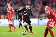 Bayern Munich v PSG, 5 Dec 2017