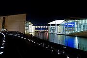 Modern administration building, German goverment, Berlin, Germany