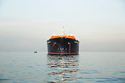 Methane Kari Elin delivers first cargo of LNG to Singapore's SLNG. 6th May 2013