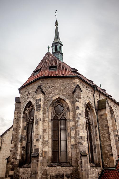 """Gänge im Anezsky Klaster in der """"U Milosrdnych Strasse 17""""."""