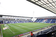 Deepdale before the Sky Bet Championship match between Preston North End and Brentford at Deepdale, Preston, England on 23 January 2016. Photo by Pete Burns.