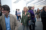 ANASTASIA LENGLET, Opening of Frieze 2009. Regent's Park. London. 14 October 2009 *** Local Caption *** -DO NOT ARCHIVE-© Copyright Photograph by Dafydd Jones. 248 Clapham Rd. London SW9 0PZ. Tel 0207 820 0771. www.dafjones.com.<br /> ANASTASIA LENGLET, Opening of Frieze 2009. Regent's Park. London. 14 October 2009