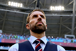 England manager Gareth Southgate during the FIFA World Cup, Quarter Final match at the Samara Stadium.