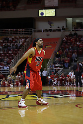 11 December 2010: Dipanjot Singh during an NCAA basketball game between the Illinois - Chicago Flames (UIC) and the Illinois State Redbirds (ISU) at Redbird Arena in Normal Illinois.