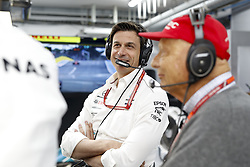 June 23, 2018 - Le Castellet, France - Motorsports: FIA Formula One World Championship 2018, Grand Prix of France, .Toto Wolff (AUT, Mercedes AMG Petronas Motorsport), Niki Lauda (AUT, Mercedes AMG Petronas Motorsport) (Credit Image: © Hoch Zwei via ZUMA Wire)