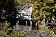 River Rur flows through Monschau ..., Travel, lifestyle