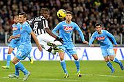 © Filippo Alfero<br /> Juventus-Napoli, Serie A 2013-2014<br /> Torino, 10/11/2013<br /> sport calcio<br /> Nella foto: Paul Pogba