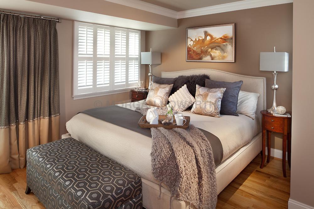 1126 25th St Nw Washington, DC designer Cynthia Prizant Master Bedroom