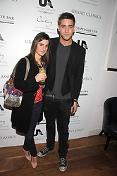 Actor OLIVER JACKSON-COHEN and NATASHA FREEMAN at the Grand Classic screening of The Apartment held at The Electric Cinema, 191 Portobello Road, London on 16th March 2008.<br />