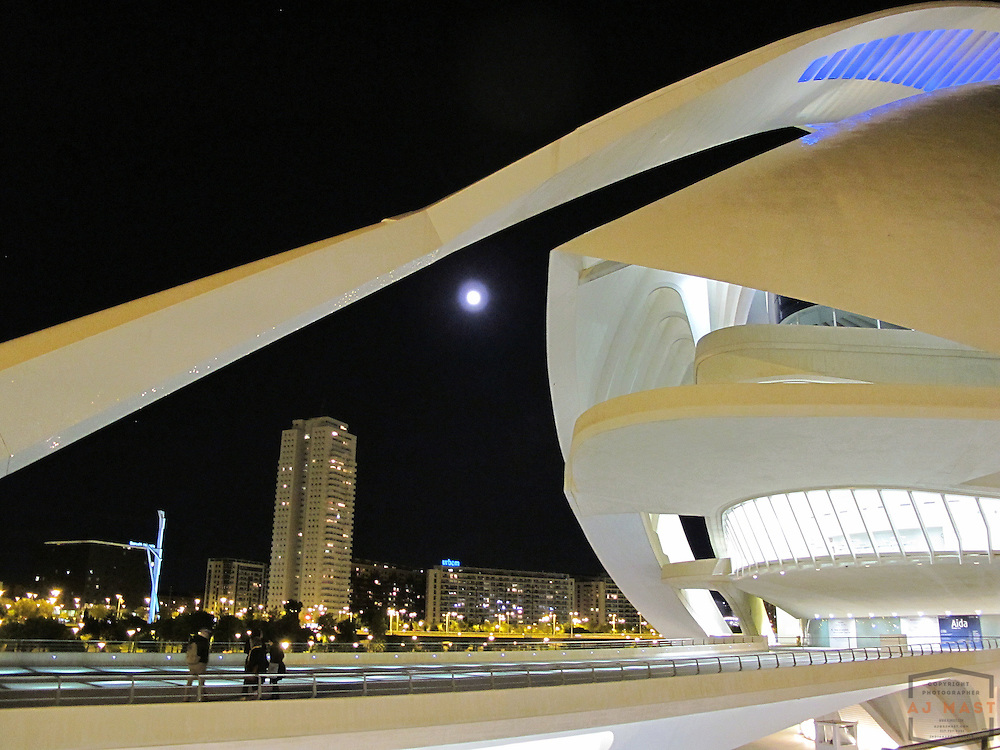 City of Arts and Sciences, Valencia Spain, Wednesday, Nov. 21, 2010. (photo by AJ Mast)