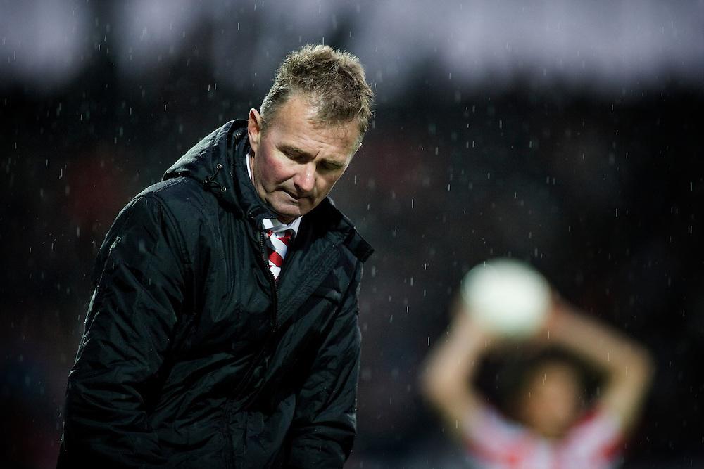 Nederland. Leiden, 25 november 2007.<br /> Sparta - FC Twente : 1-1.<br /> Adri van Tiggelen is voor de vierde maal interim trainer van Sparta. <br /> Foto Martijn Beekman <br /> NIET VOOR TROUW, AD, TELEGRAAF, NRC EN HET PAROOL