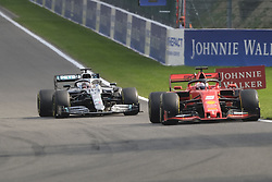 September 1, 2019, Spa Francorchamps, Belgium: Ferrari Driver SEBASTIAN VETTEL (GER) in action during the race of the Formula one Johnnie Walker Belgian Grand Prix at the SPA Francorchamps circuit - Belgium..Charles Leclerc wins his first Formula One Grand Prix (Credit Image: © Pierre Stevenin/ZUMA Wire)