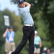 Russell Knox in action during the third round of theThe Barclays Golf Tournament at The Ridgewood Country Club, Paramus, New Jersey, USA. 23rd August 2014. Photo Tim Clayton